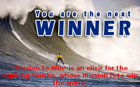 You are the next winner